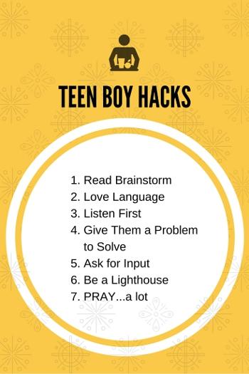 TEEN BOY HACKS