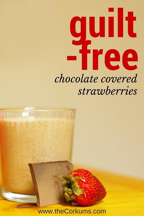 chocolate strawberry graphic