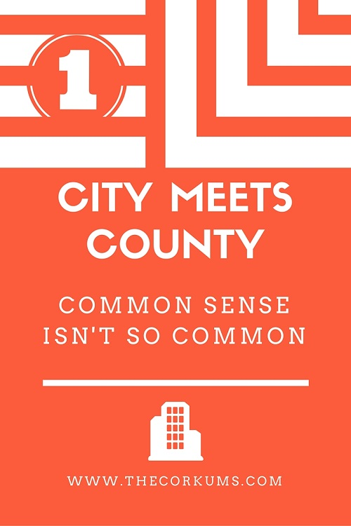 City meets county #1
