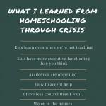 homeschooling crisis