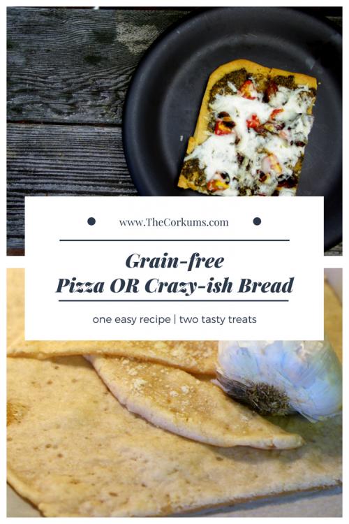 pizza crazy bread