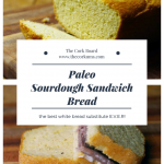 paleo sourdough sandwich bread