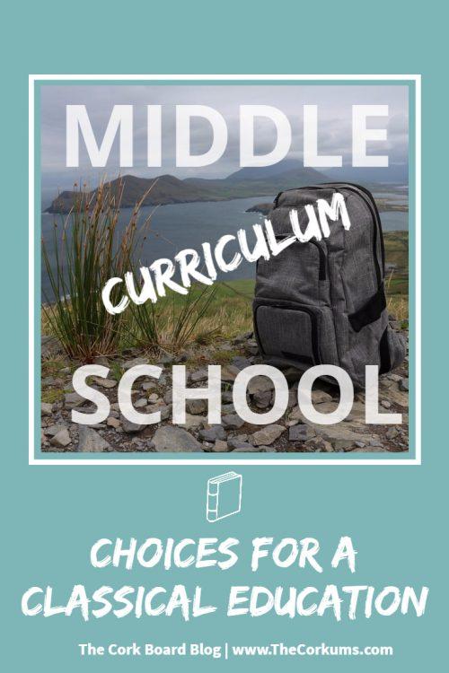 homeschool curriculum middle school