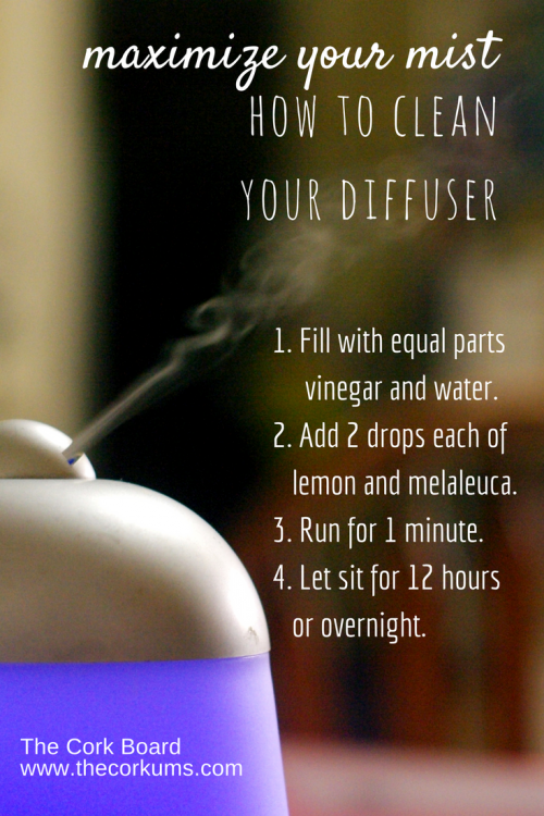 how to clean diffuser